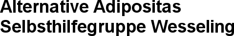 Alternative Adipositas Selbsthilfegruppe Wesseling